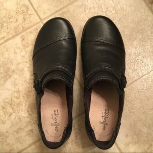Clarks Ultimate Comfort Collection Black Shoes